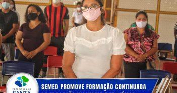 SEMED promove formação continuada de Educação Inclusiva e EducaçãoFísica