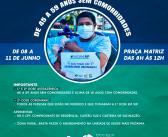Vacinação avança para pessoas de 45 a 59 sem comorbidades